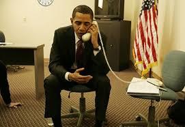 obama telefonuje